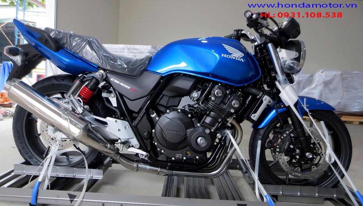 Hình xe Honda CB400 FS ABS 2018 mới phiên bản kỹ niện 25 năm của dòng Honda