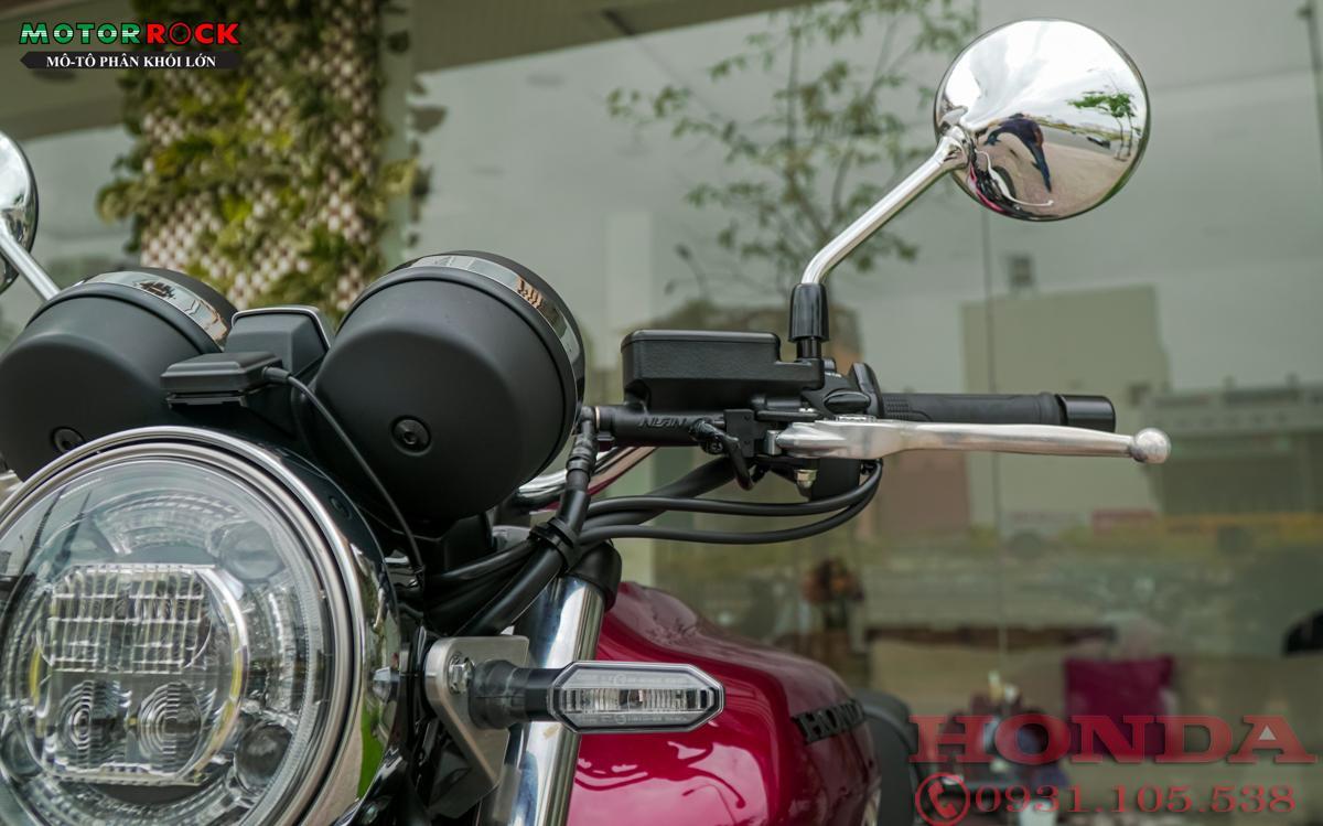 Honda CB1100RS 2020 màu đỏ mới