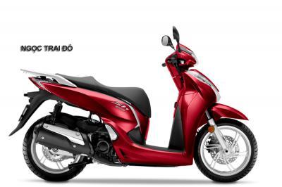 SH300i Italia đỏ