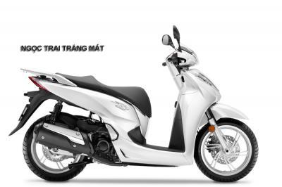 SH300i Italia trắng ngọc trai