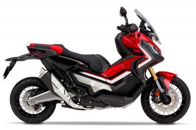 X-ADV 750 đỏ