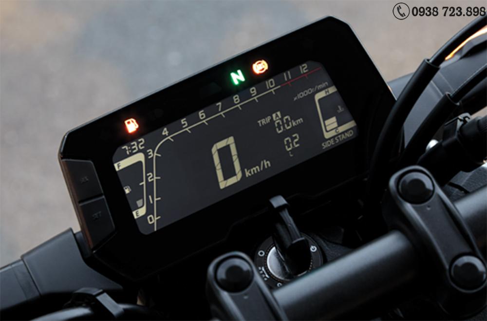màn hình hiển thị Honda CB300R 2022