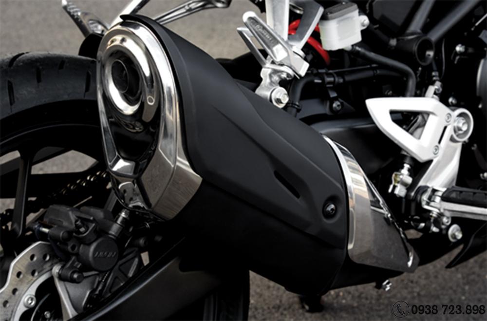Ống xả Honda CB300R 2022