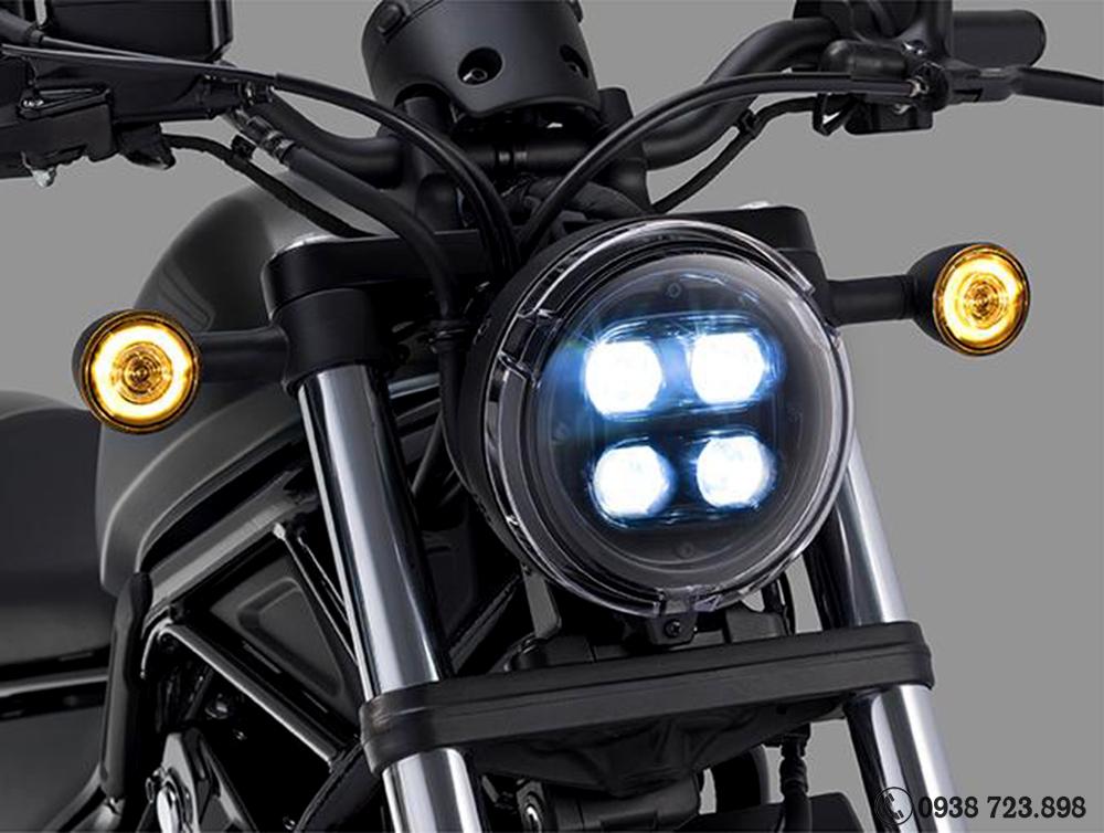 9èn pha Honda Rebel 500 2022