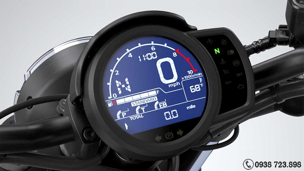 D(ồng hồ Honda Rebel 1100 2022