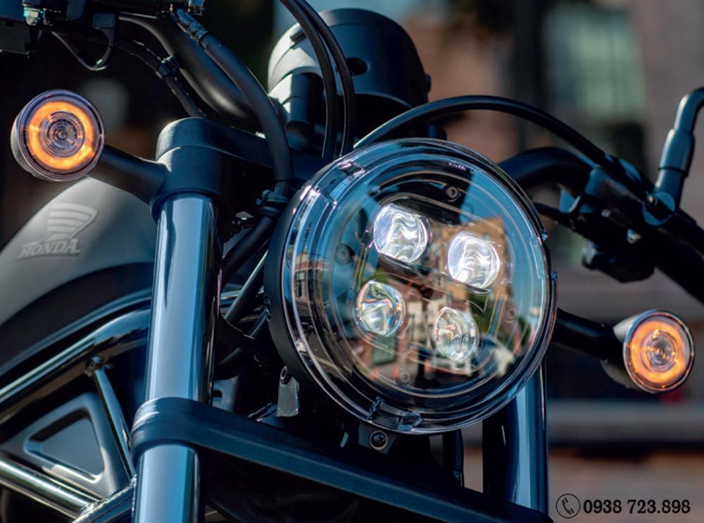 đèn pha rebel 300