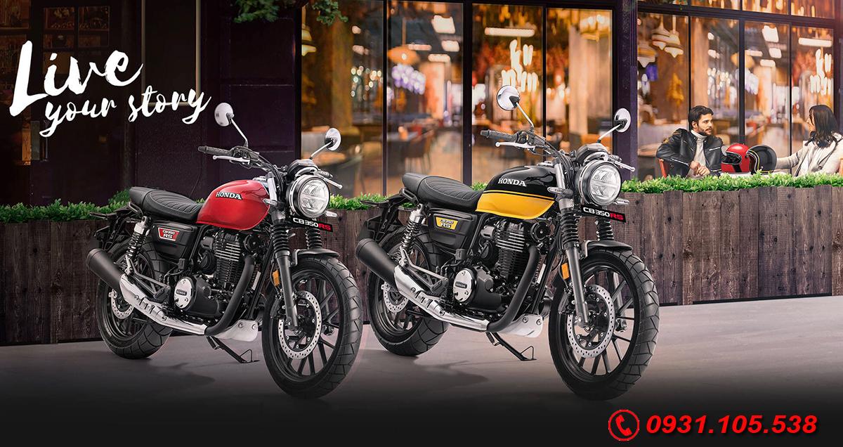 Honda CB350 RS 2021 mới