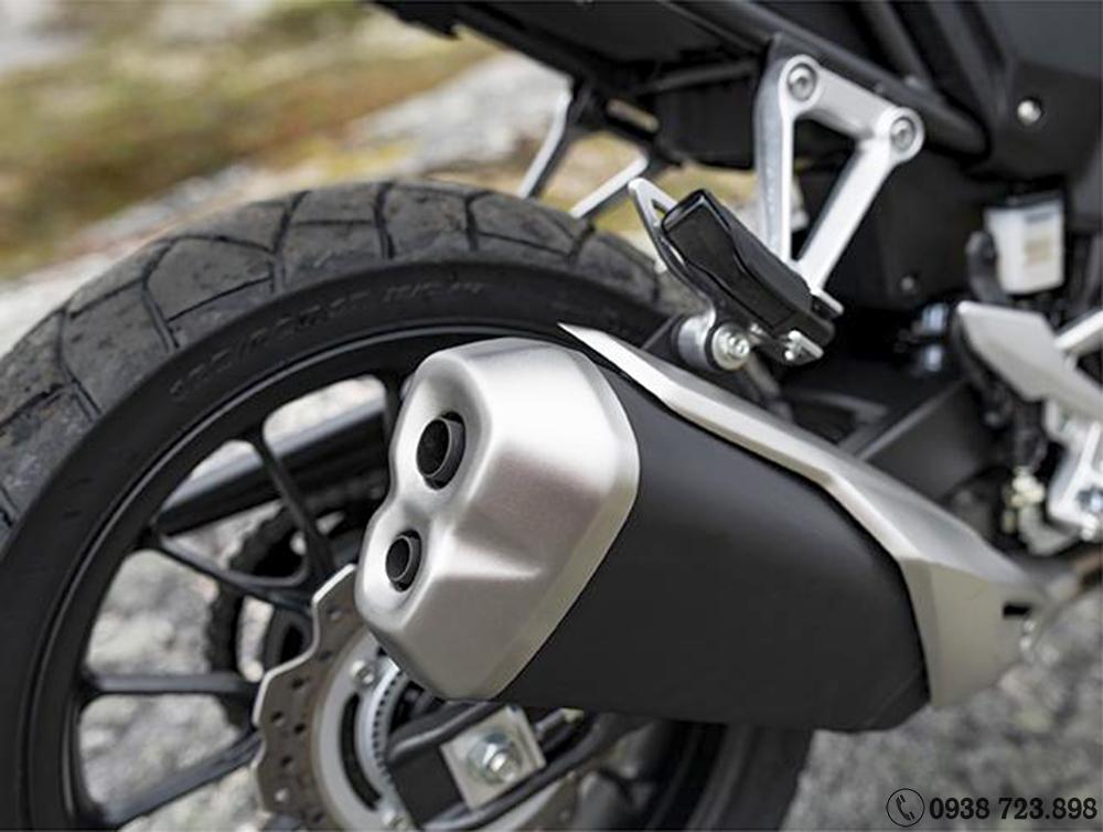 Ống xả Honda CB500X 2022