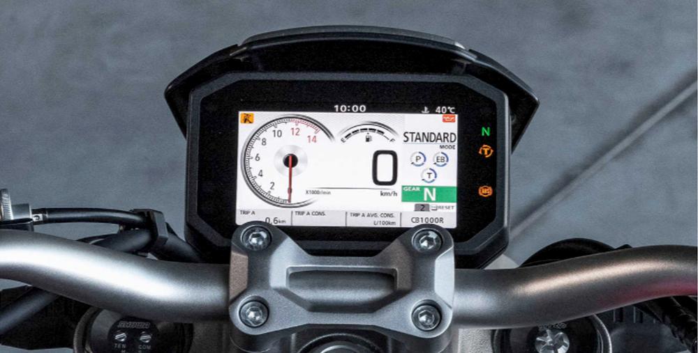 Màn hình điều khiển Honda CB1000R 2022