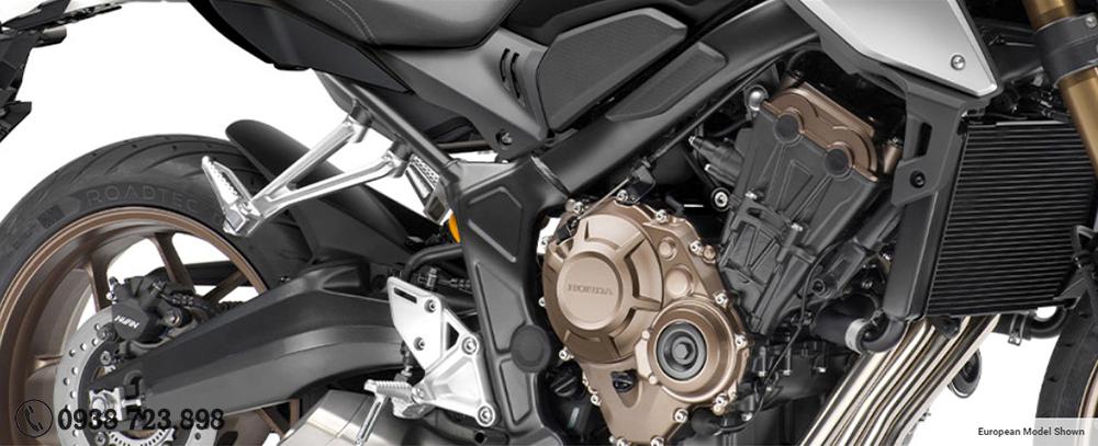 động cơ Honda CB650R 2021