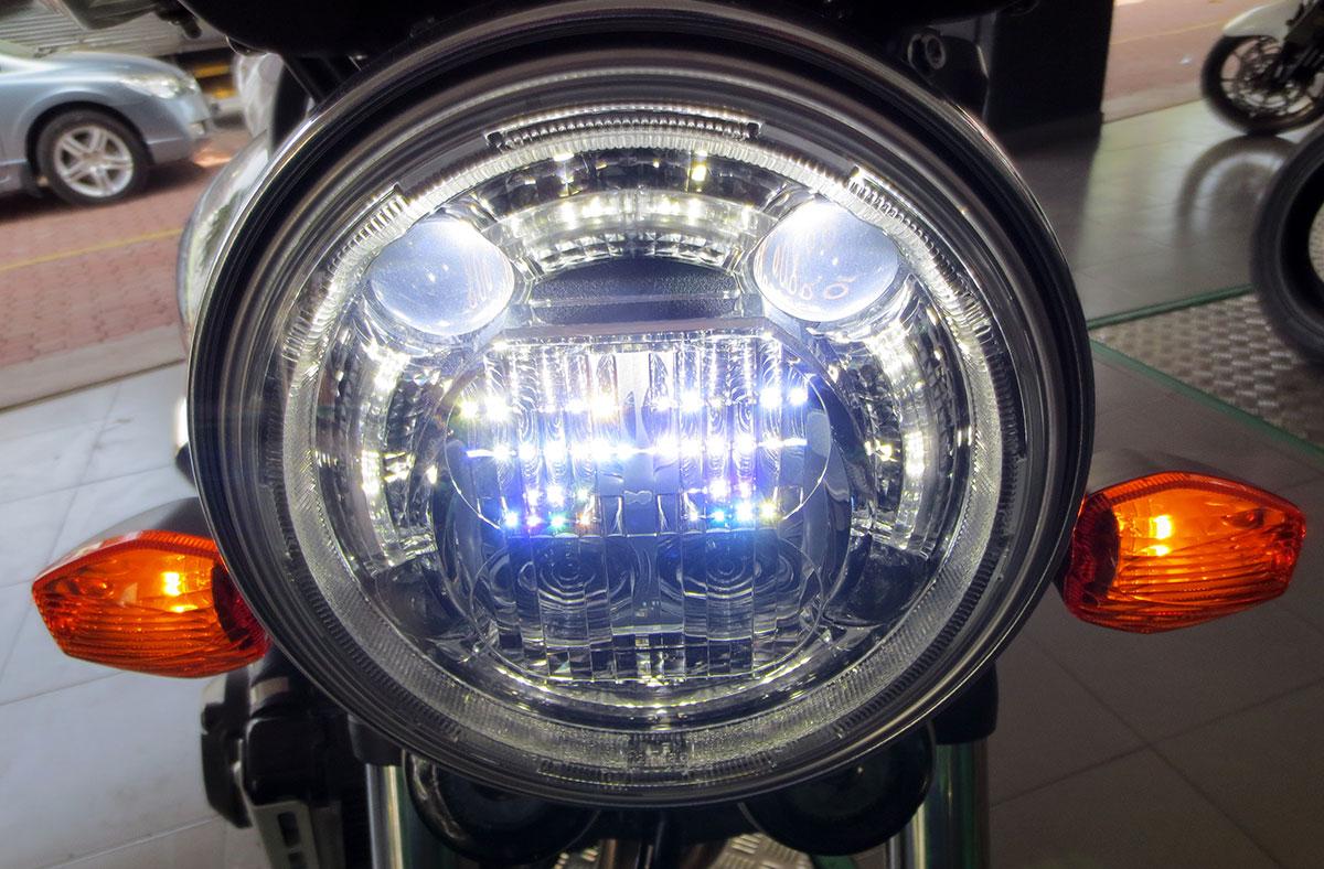 Đèn pha Logo Honda CB400SF 2018