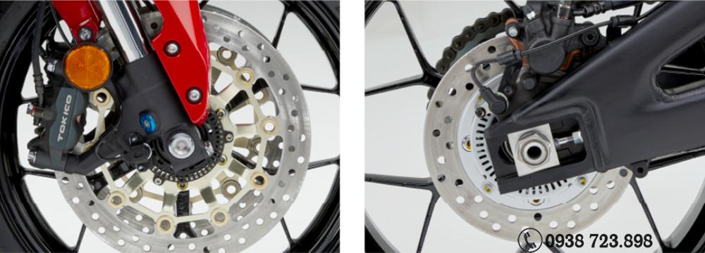 Phanh ABS Honda CBR600RR HRC 2022