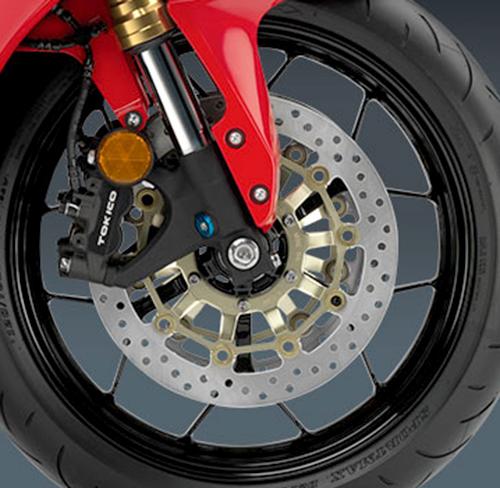 giảm sốc tinh vi của Honda CBR600RR