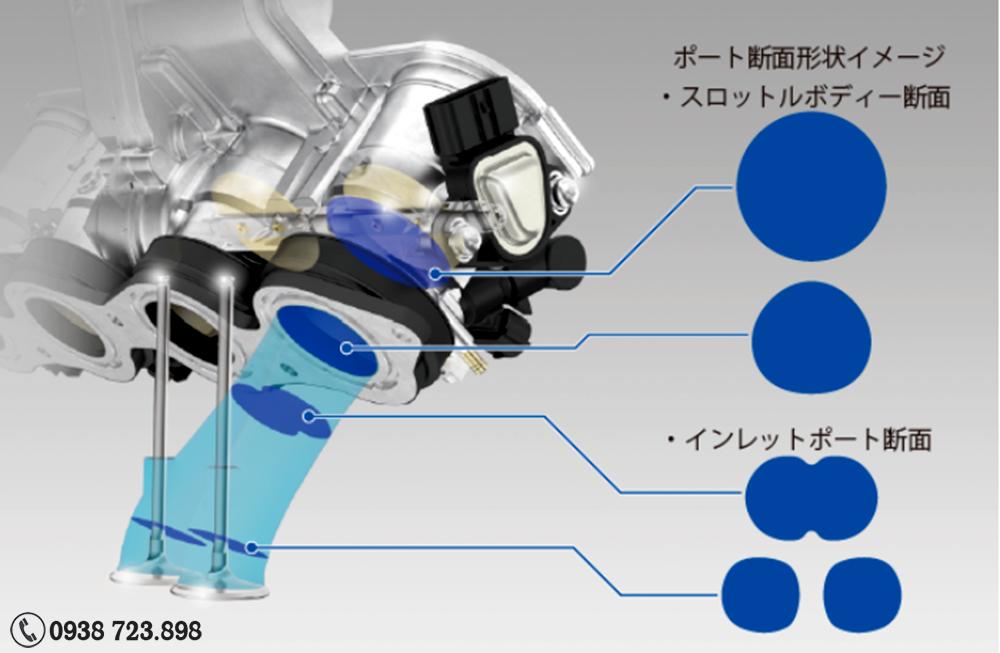 Phun xăng Honda CBR600RR ABS 2022